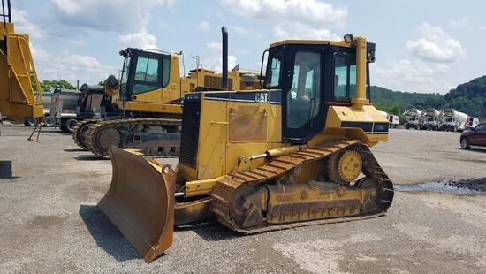 CAT D5MXL CRAWLER TRACTOR SN:6GN2544 powered by Cat diesel engine, equipped with EROPS, air, heat, A