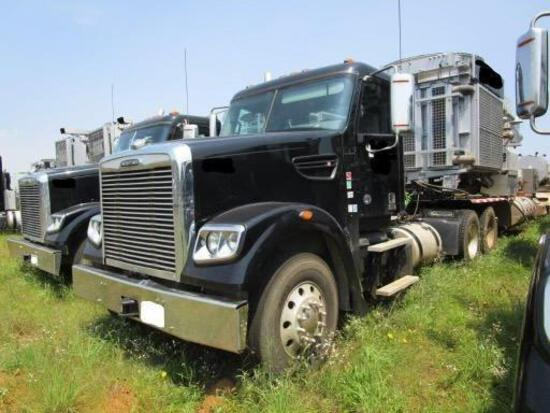 2019 FREIGHTLINER 122SD TRUCK TRACTOR powered by Cummins ISX diesel engine, 484hp, equipped with 10