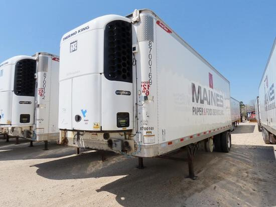 2016 GREAT DANE VN:708725 equipped with 48ft. Refer body, Thermo King 3-temp refer unit, tandem axle