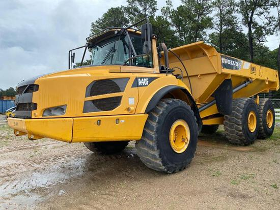 2013 VOLVO A40F ARTICULATED HAUL TRUCK SN:P00012366 6x6, powered by diesel engine, equipped with ERO