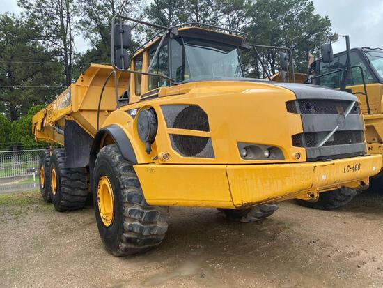 2014 VOLVO A40F ARTICULATED HAUL TRUCK SN:C00012016 6x6, powered by diesel engine, equipped with ERO