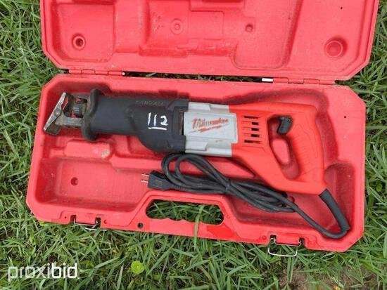 MILWAUKEE ELECTRIC SAWS ALL SUPPORT EQUIPMENT