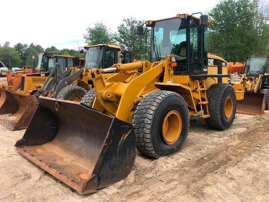 CAT 938G RUBBER TIRED LOADER SN:9HS00582 powered by Cat 3126 diesel engine, equipped with EROPS, GP