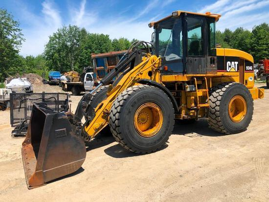CAT 924G RUBBER TIRED LOADER SN:DDA01999 powered by Cat 3056 diesel engine, equipped with EROPS, 3rd
