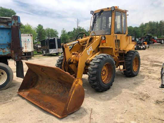 CAT 910F RUBBER TIRED LOADER SN:1SF01462 powered by Cat 3114 diesel engine, equipped with EROPS, 3rd