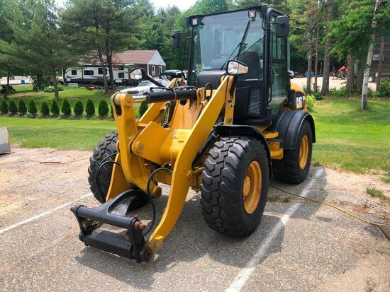 2012 CAT 908H RUBBER TIRED LOADER SN:LMD02389 powered by Cat C3.4 diesel engine, equipped with EROPS