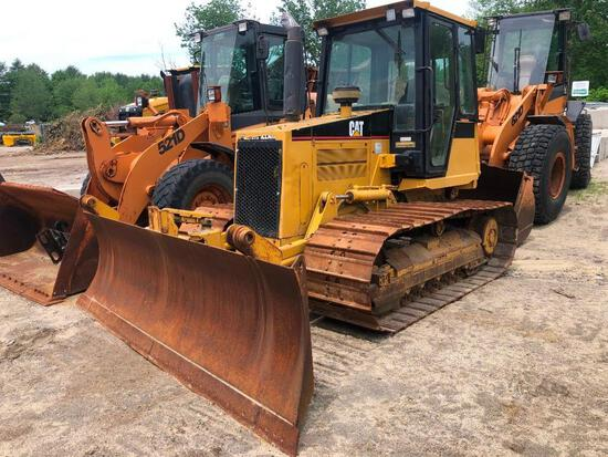 CAT D5CLGP CRAWLER TRACTOR SN:6CS01143 powered by Cat 3046 diesel engine, equipped with EROPS, air,