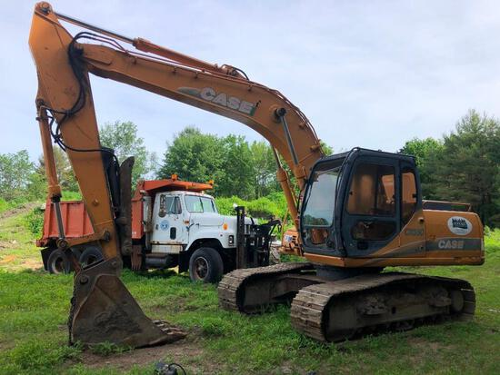 CASE CX160 HYDRAULIC EXCAVATOR SN:DAC161703 powered by Case 4TA-390 diesel engine, equipped with Cab