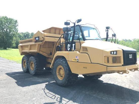 2014 CAT 730C ARTICULATED HAUL TRUCK SN:TFH00139 6x6, powered by Cat C13 diesel engine, equipped wit