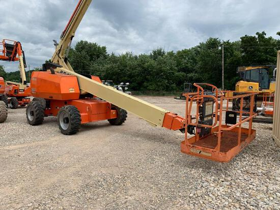 2015 JLG 600S BOOM LIFT SN:300198256 4x4, powered by diesel engine, equipped with 60ft. Platform hei