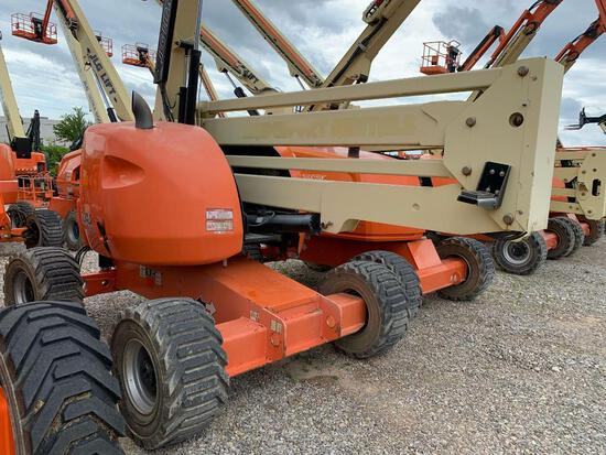 2015 JLG 450AJ BOOM LIFT SN:300198279 4x4, powered by diesel engine, equipped with 45ft. Platform he