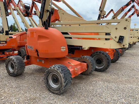 2015 JLG 450AJ BOOM LIFT SN:300195830 4x4, powered by diesel engine, equipped with 45ft. Platform he