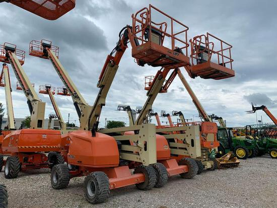 2015 JLG 450AJ BOOM LIFT SN:300205056 4x4, powered by diesel engine, equipped with 45ft. Platform he