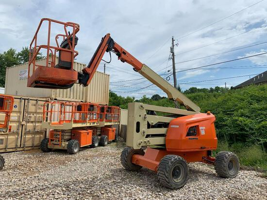 2015 JLG 450AJ BOOM LIFT SN:300205053 4x4, powered by diesel engine, equipped with 45ft. Platform he