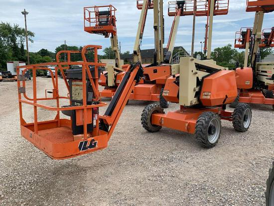 2015 JLG 340AJ BOOM LIFT SN:300208734 4x4, powered by diesel engine, equipped with 34ft. Platform he