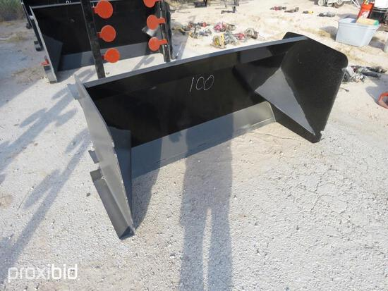 NEW 8FT. SNOW PUSHER SNOW EQUIPMENT w/steel blade.NG.