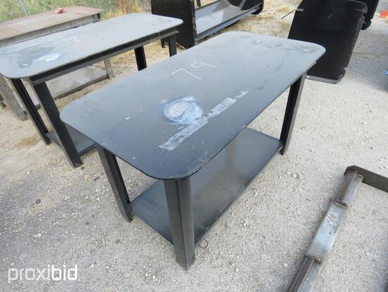 NEW 30IN. X 57IN. WELDING TABLE NEW SUPPORT EQUIPMENTNG.