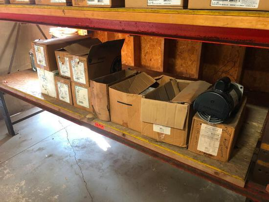 ASSORTED REPLACEMENT POOL MOTORS POOL SUPPLIES