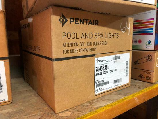 PENTAIR 500W/ 120V 50FT. CORD POOL LIGHT POOL SUPPLIES