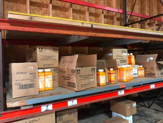 ASSORTED SPA CHEMICALS POOL SUPPLIES