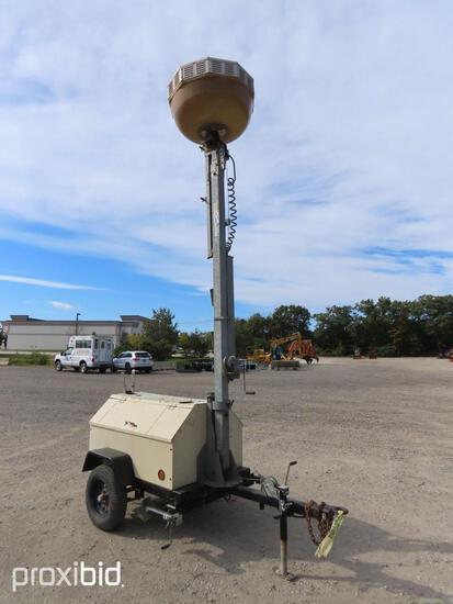 2012 TEREX RL4000 LIGHT PLANT... ...SN-121353 powered by diesel engine, equipped with 4-1,000 watt l