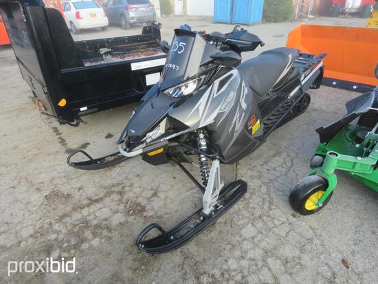 2019 ARTIC CAT 1100 TURBOSNOWMOBILE powered by turbo gas engine, loaded, 3,000 miles.