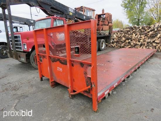 24FT. X 97IN. STEEL FLATBED FLATBED BODY