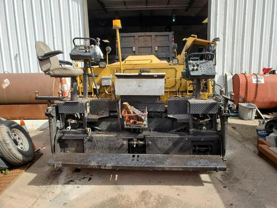 2011 WEILER P385 ASPHALT PAVER SN:P385-1018 powered by Cat C3.4 diesel engine, equipped with 8ft.-15