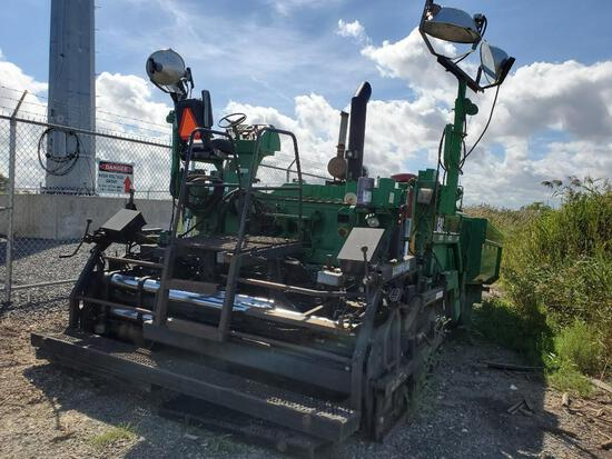 BARBER GREENE BG245 ASPHALT PAVER SN:ACM00280 powered by Cat diesel engine, equipped with 10-20ft. E