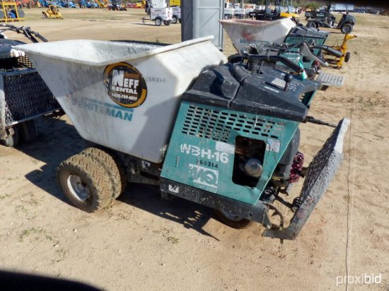 2006 MULTIQUIP WBH-16F CONCRETE BUGGY CONCRETE EQUIPMENT SN260214 powered by gas engine, equipped wi