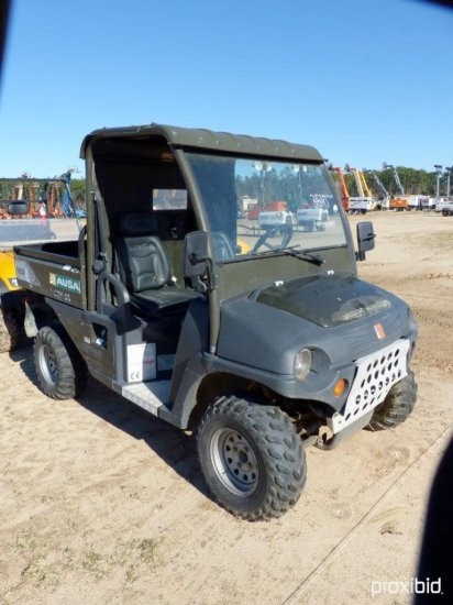 2007 AUSA M50 UTILITY VEHICLE SN13055407 powered by gas engine, equipped with Canopy, wipers, 4ft. D