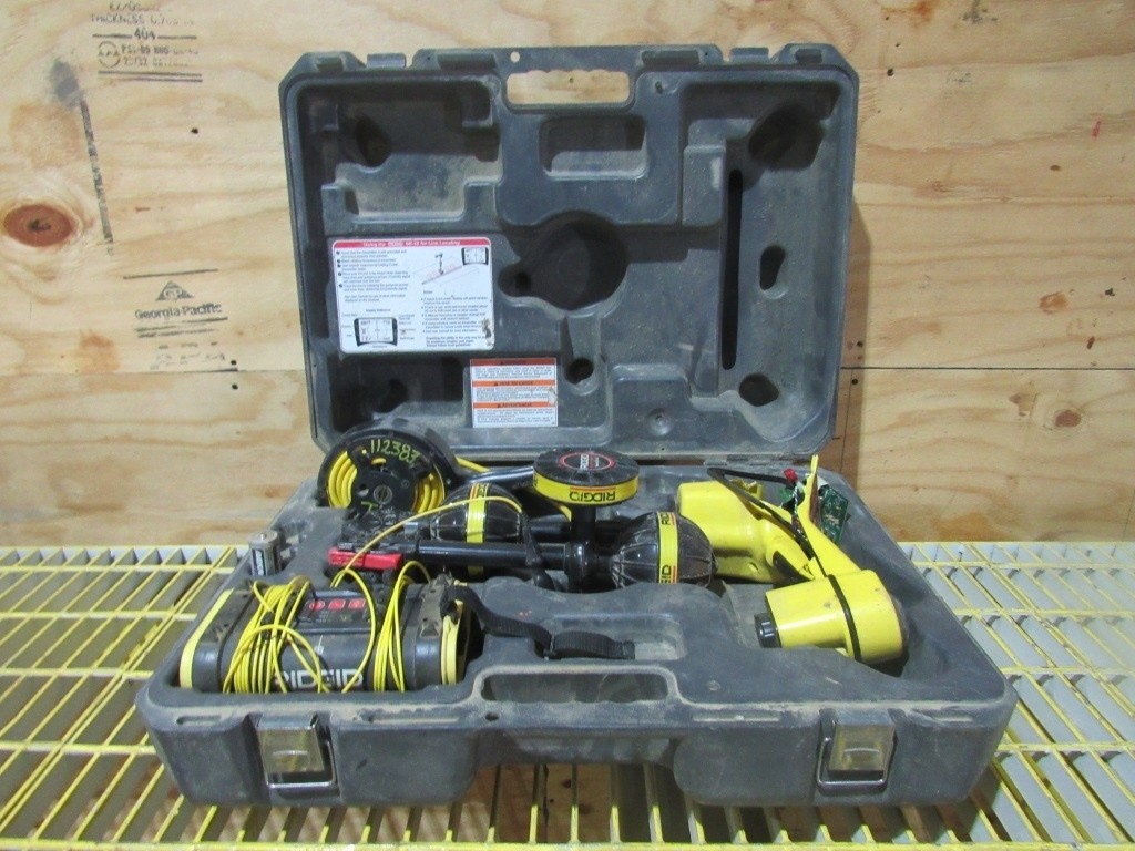 Lot: Ridgid Utility Line Receiver / Locator- | Proxibid Auctions