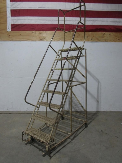 7' Rolling Staircase-