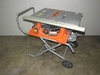 "Ridgid 10"" Table Saw with Rolling Stand-"
