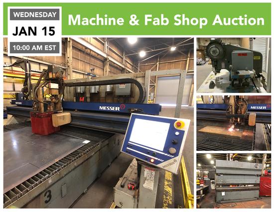 Machine and Fab Shop Auction