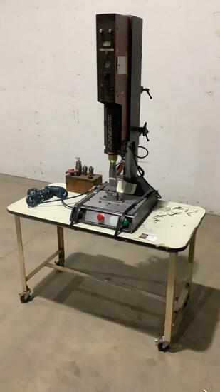 Ultrasonic Welder w/ Rolling Table-