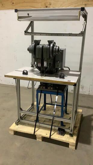 Double Head Rivet Machine w/ Table-