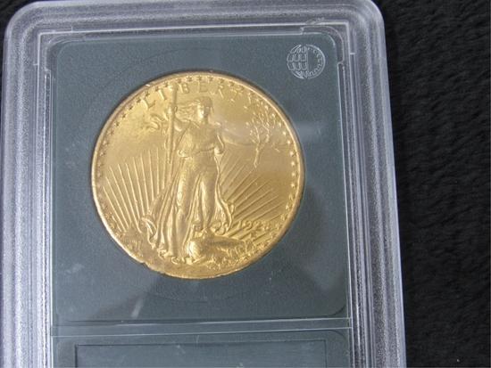 1928 $20 St. Gaudens Gold Coin-