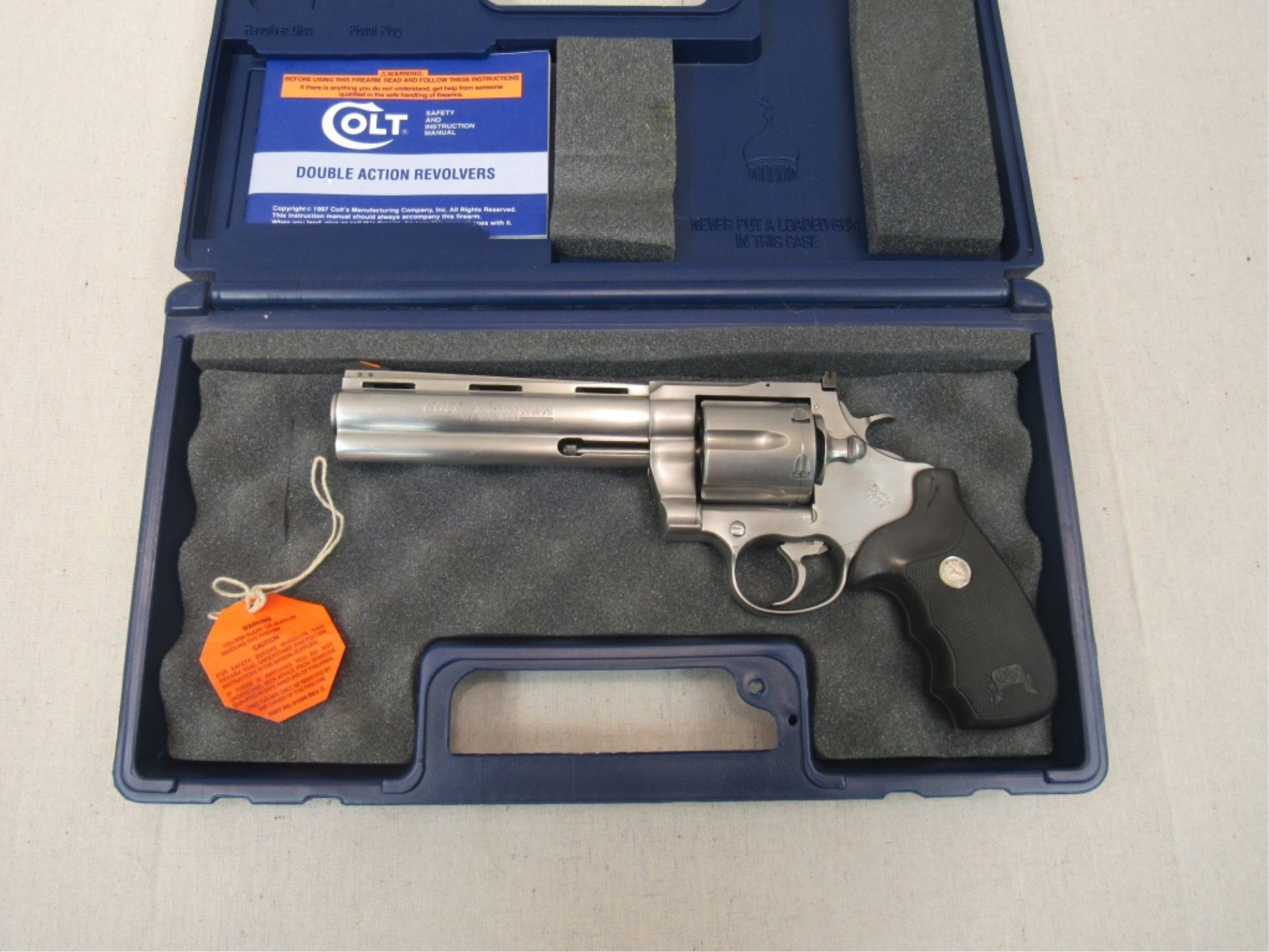 Colt Anaconda 44 MAG | Firearms & Military Artifacts