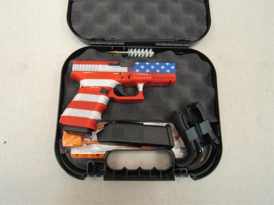 Patriotic Glock 19 Gen 4 9x19-