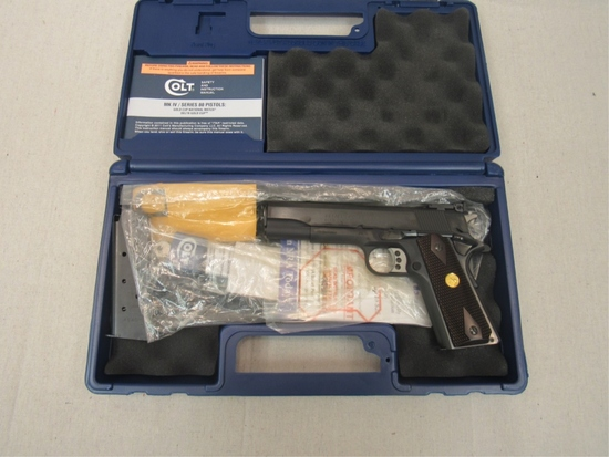 """Colt MK IV Series 80 Gold Cup .45 """"New Unfired""""-"""