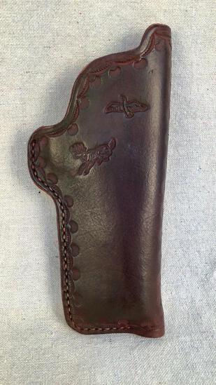 Embossed Leather Holster