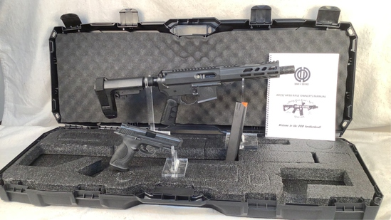 AR9 Pistol and M&P 9 Pistol in Case