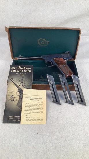 Colt Woodsman 22 Long Rifle