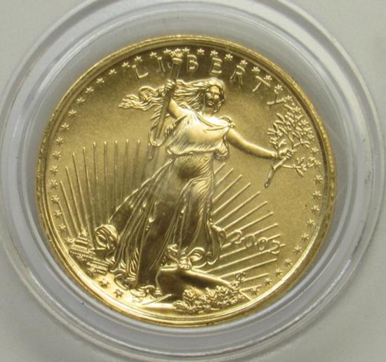 2002 US $5 American Eagle