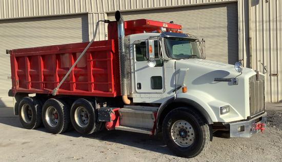 2009 Kenworth T8 Series Dump Truck 10% BP