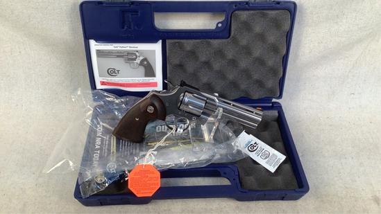 Colt Python Stainless 357 Magnum