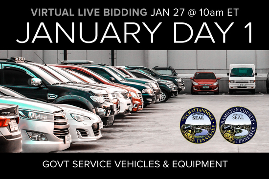 January Monthly Day 1 Auction