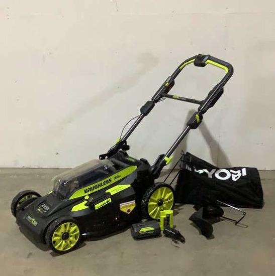 "Ryobi 20"" Cordless Lawn Mower"