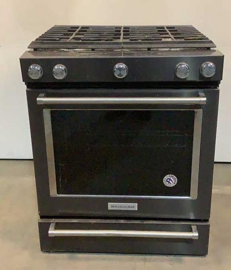 KitchenAid Stove KSGG700EBS1